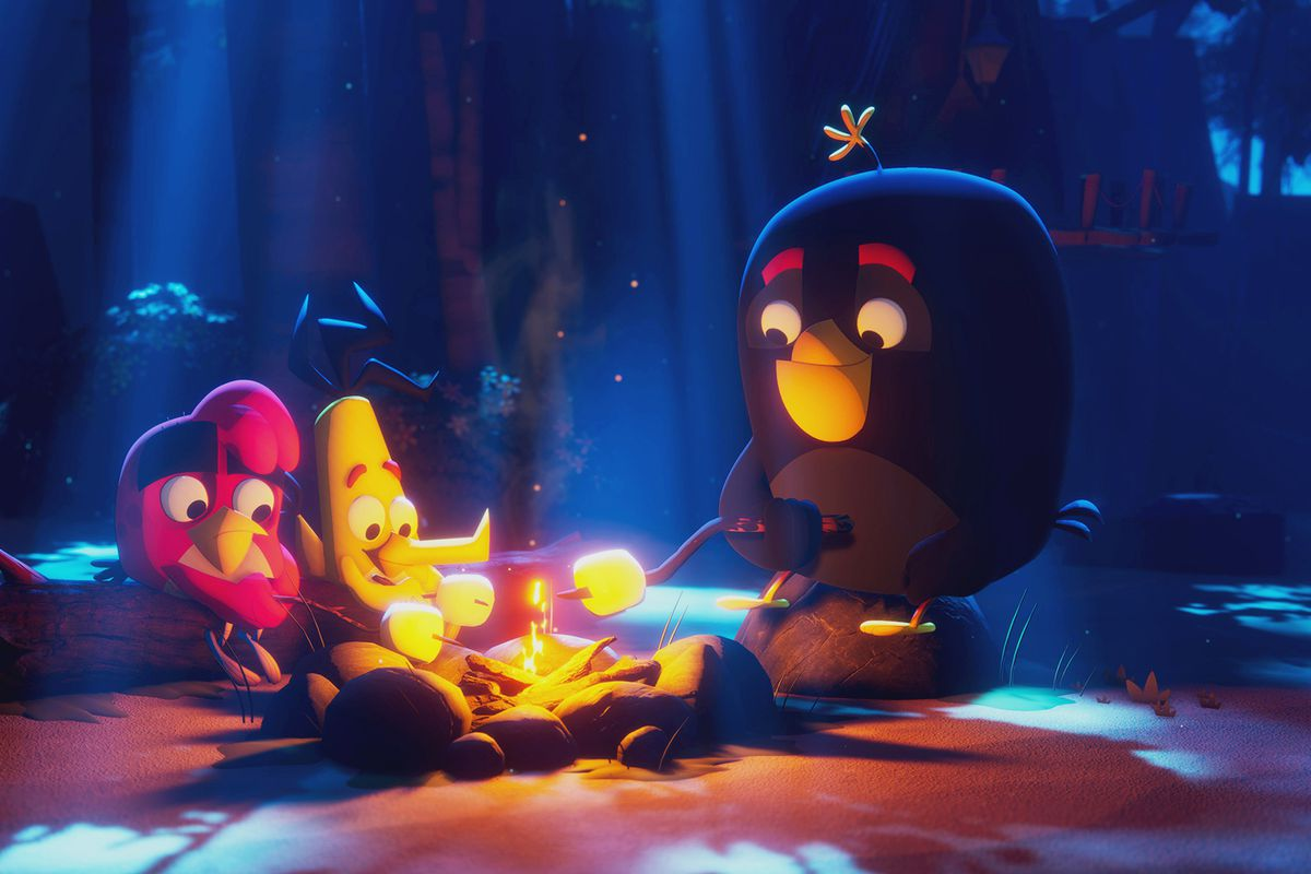 an angry birds animated series for 2021
