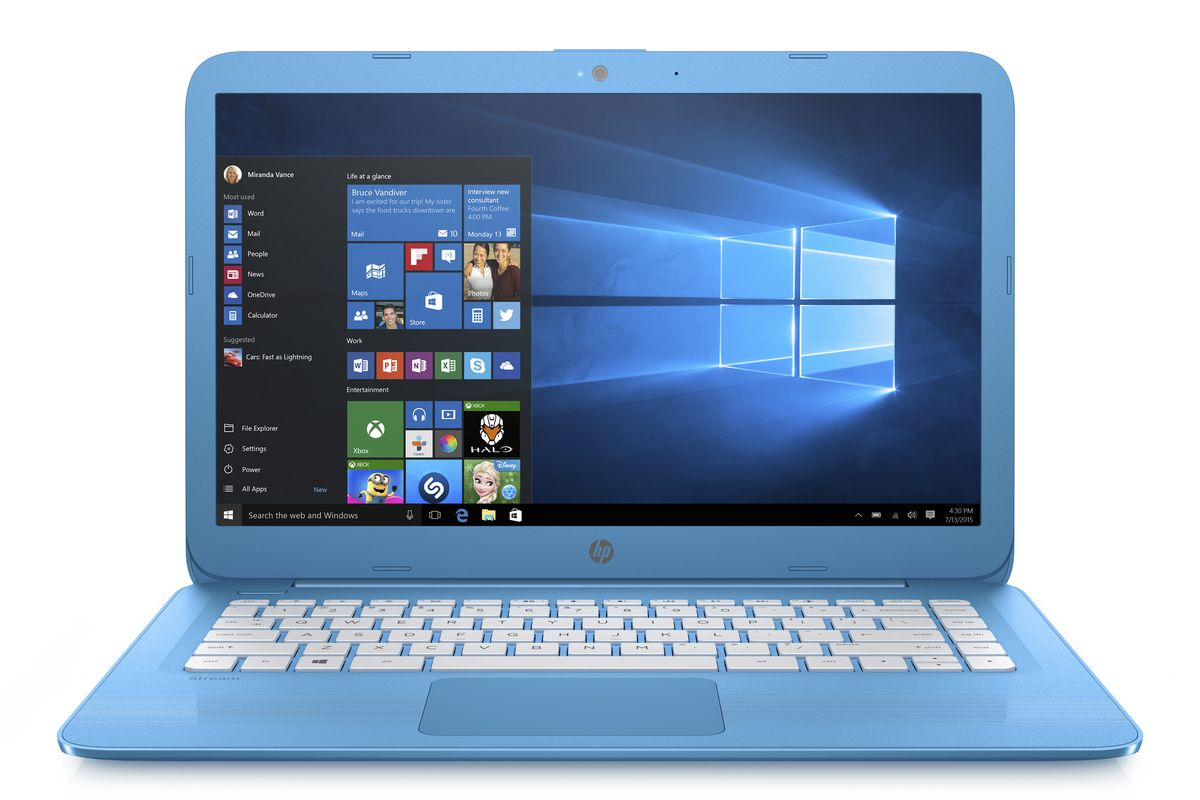 HPs new cloudoptimized laptops are cheap PCs with little
