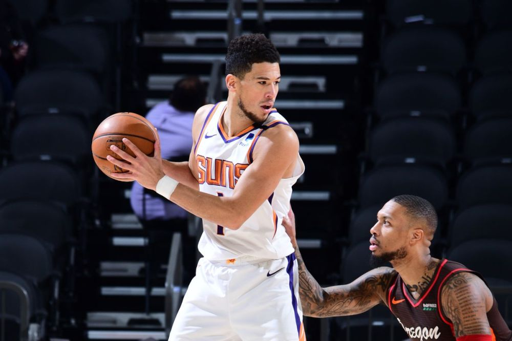 Recap: Phoenix Suns blow out Trail Blazers for third straight win - Bright  Side Of The Sun