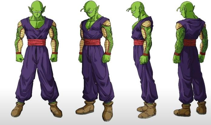 Piccolo's new look from Dragon Ball Super: Superhero
