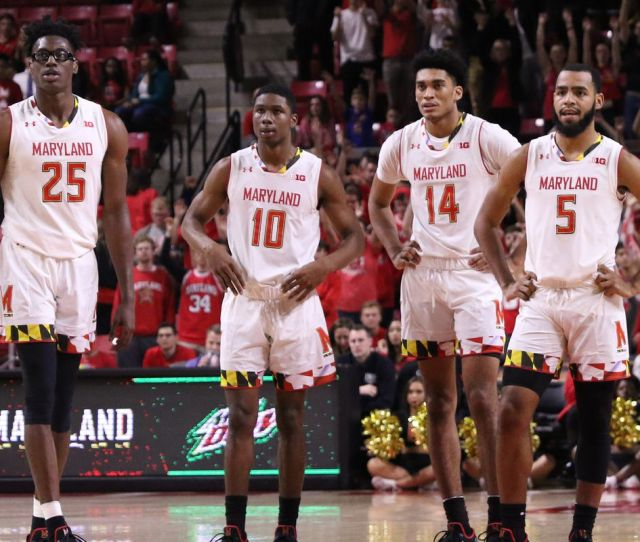 Maryland Basketball Ranked No  In Ap Preseason Top  Testudo