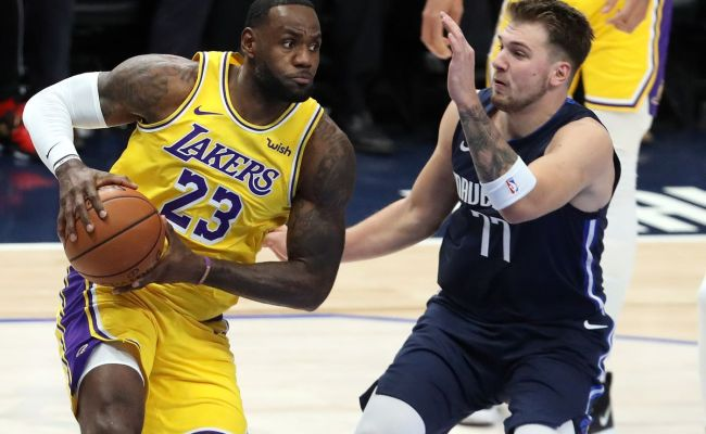 Lakers Vs Mavericks Preview Game Thread Starting Time