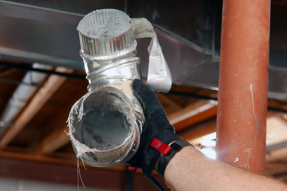 how to clean a dryer vent this old house
