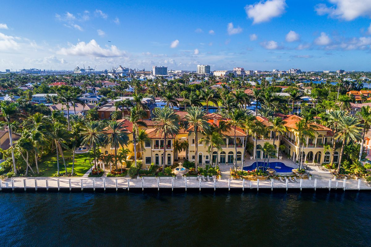 Fort Lauderdale mansion asks 39M becoming Browards priciest home  Curbed Miami