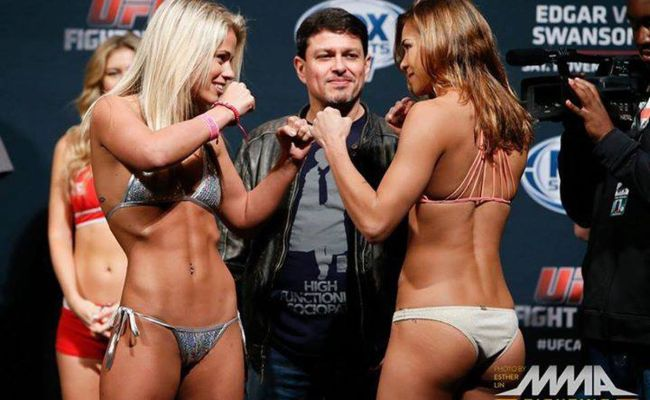 Paige Vanzant Expected Felice Herrig Match Up Because We