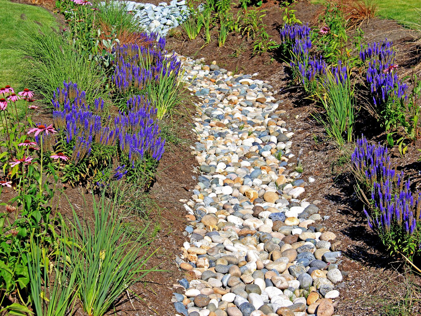 how to install a french drain this