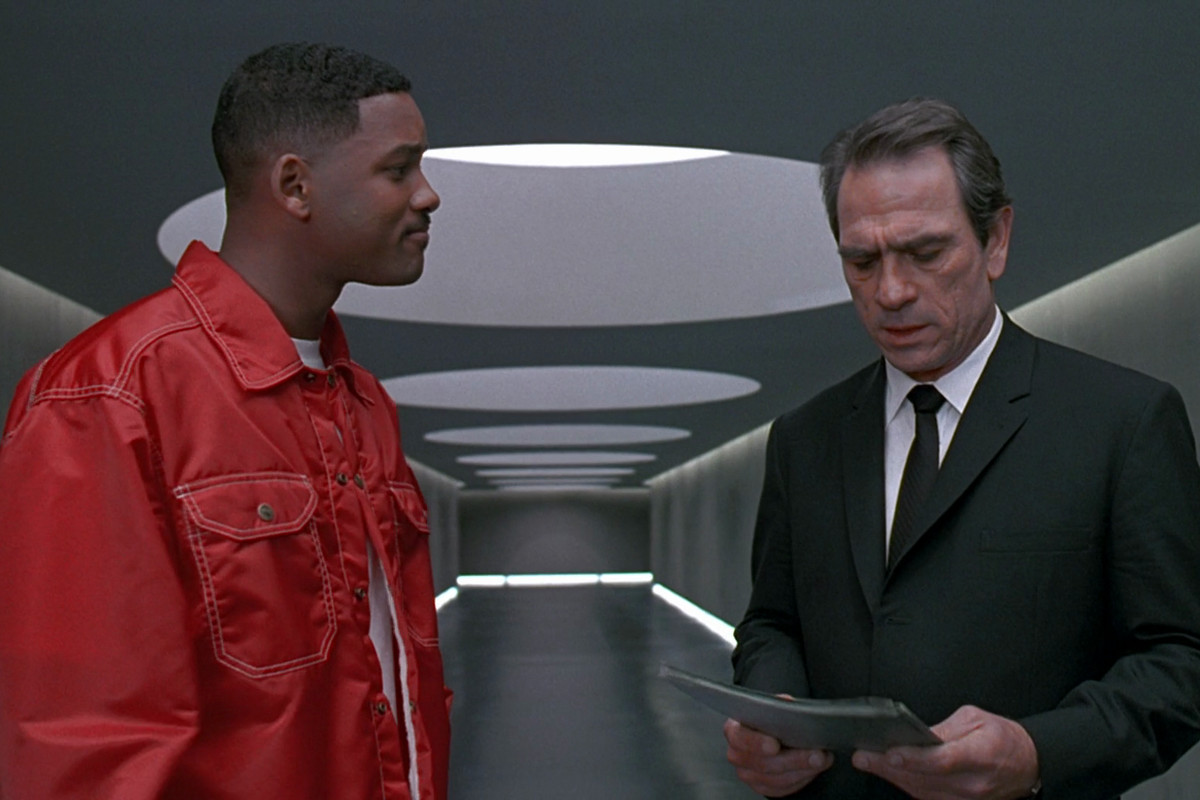Men in Blacks best scene doesnt have any special effects