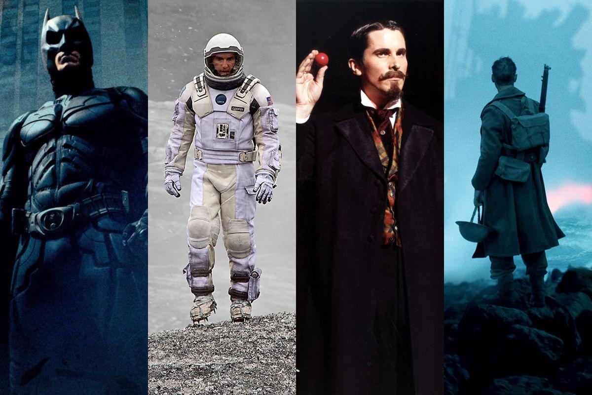 Scenes From Christopher Nolan's Films The Dark Knight, Interstellar, The  Prestige, And Dunkirk