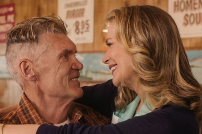 Everett McGill and Peggy Lipton in a still from Twin Peaks