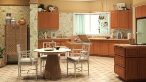 golden backgrounds kitchen living culture pop homes iconic modsy seinfeld blanche obscure friends curbed frasier jerry videochiamate sfondi inspired paper
