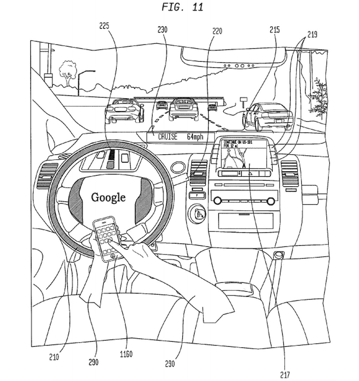 Self Driving Car Patent Reveals How You Ll Let Ai
