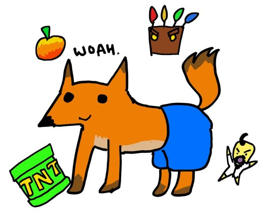 Polygon tries to draw Crash Bandicoot from memory 6