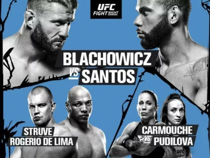 Image result for Blachowicz vs Santos