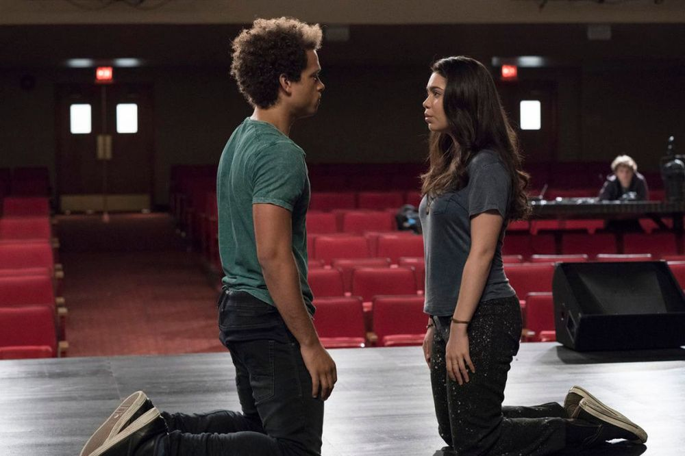 medium resolution of robbie damon j gillespie and lilette auli i cravalho tackle spring awakening and their feelings in rise virginia sherwood nbc