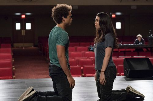 small resolution of robbie damon j gillespie and lilette auli i cravalho tackle spring awakening and their feelings in rise virginia sherwood nbc