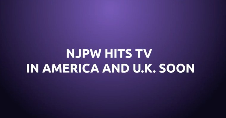 New Japan's returning to U.S. & U.K. TV, and we have questions