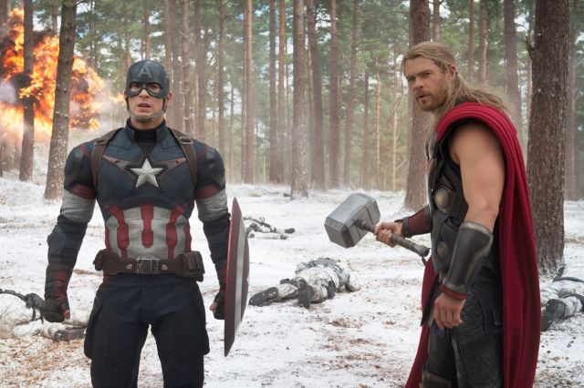 Avengers: Age of Ultron promotional stills (MARVEL/DISNEY)