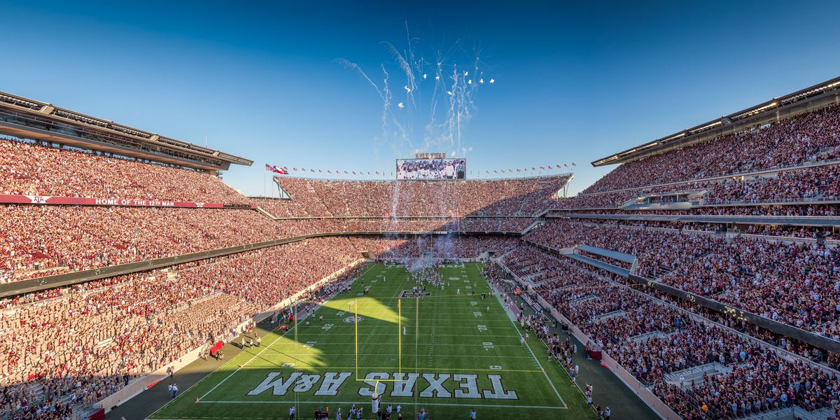 Dual Monitor Wallpaper Fall Photo Gallery The New Kyle Field Shines In Aggie Home