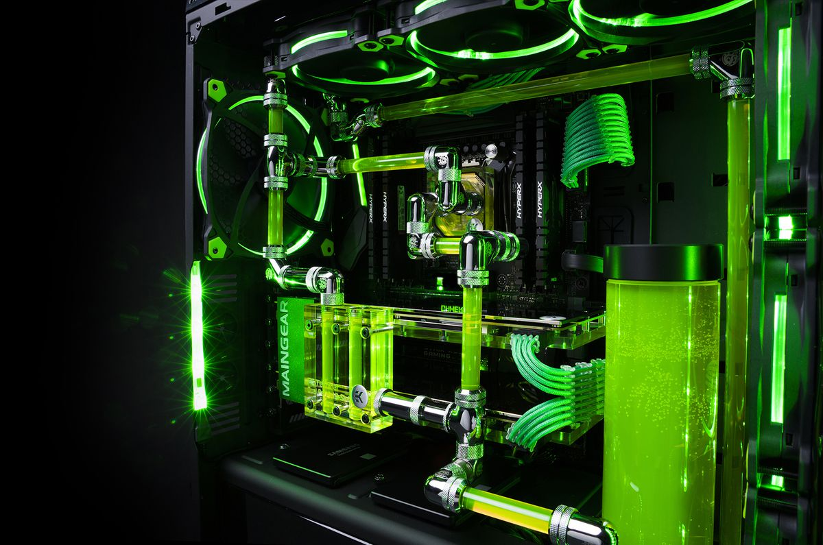 Further Gaming Pc Water Cooling System On Gaming Pc Cooling Diagram