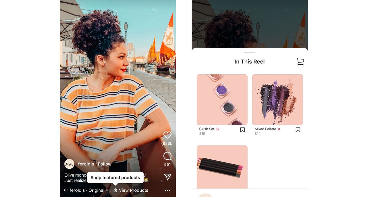 Shopping is coming to Instagram Reels globally, turning the whole app into a catalog
