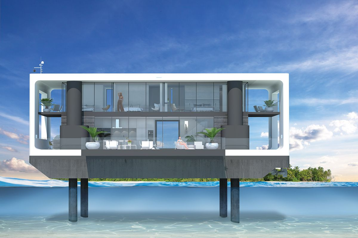 Answering Miamis Sea Level Issues Could Be These Sleek