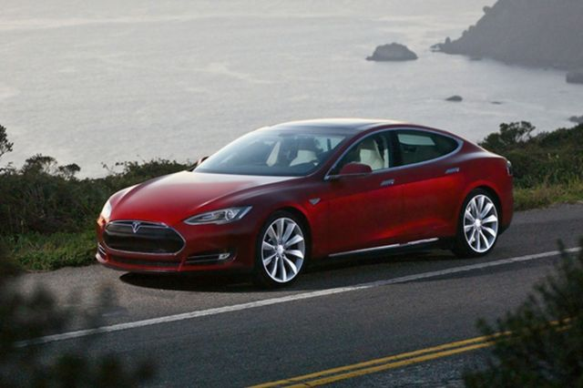 Tesla Model S press image