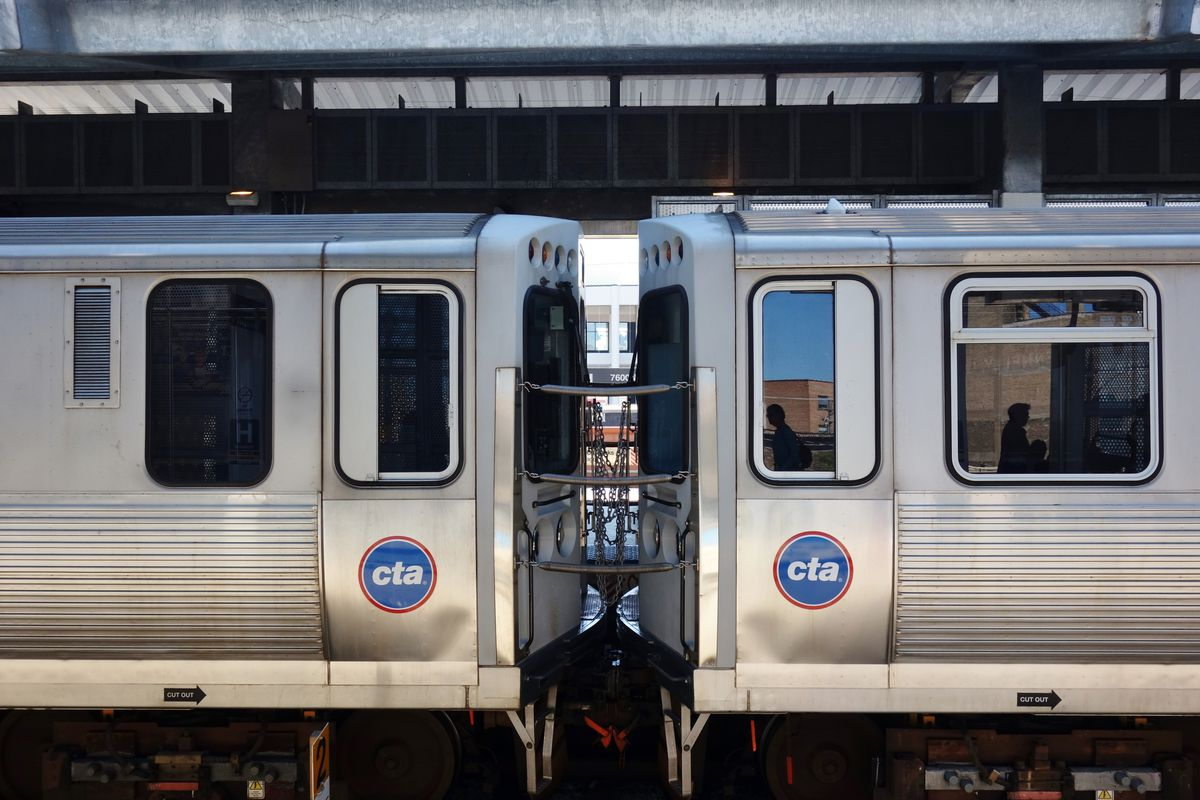 CTA Blue Line gets new cars extra trains  Curbed Chicago