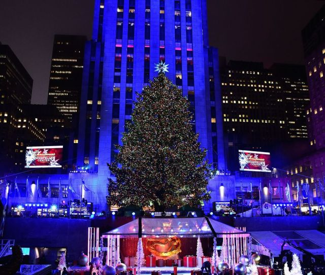 Last Years Rockefeller Center Christmas Tree Is Now A House In Upstate New York