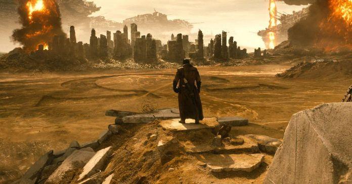 Batman's knightmare from Batman v Superman