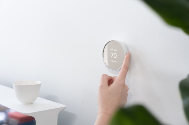 Nest_Thermostat_Lifestyle_1.0 Google's Nest announces new smart thermostat with simpler design, lower price   The Verge