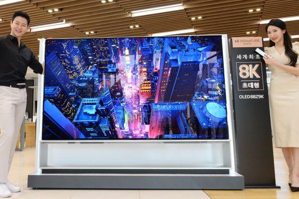 Lg Starts Selling World 8k Oled Tv Week - Verge