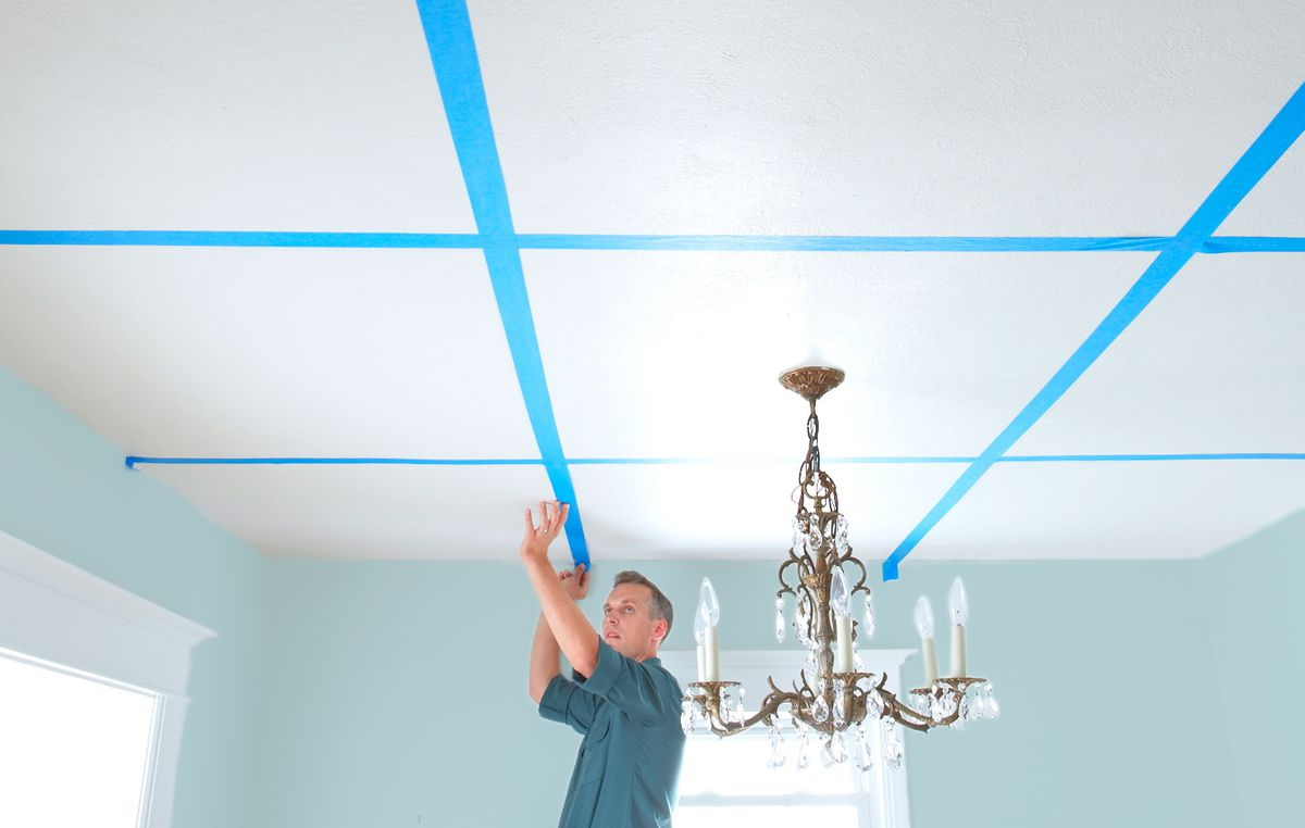 how to build a coffered ceiling this