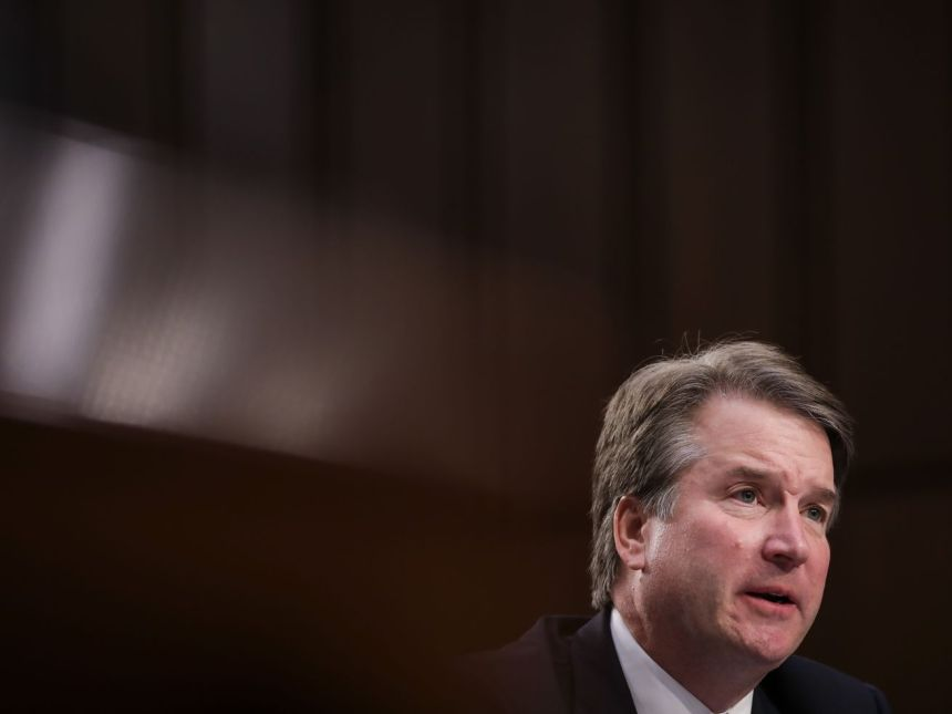 Supreme Court nominee Judge Brett Kavanaugh, who has been accused of sexual assault by Christine Blasey Ford.