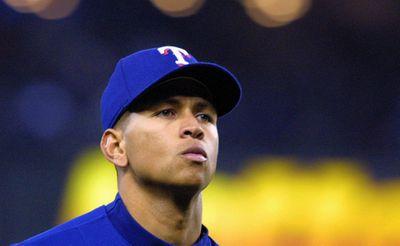 Texas Rangers Alex Rodriguez ignores the chorus of