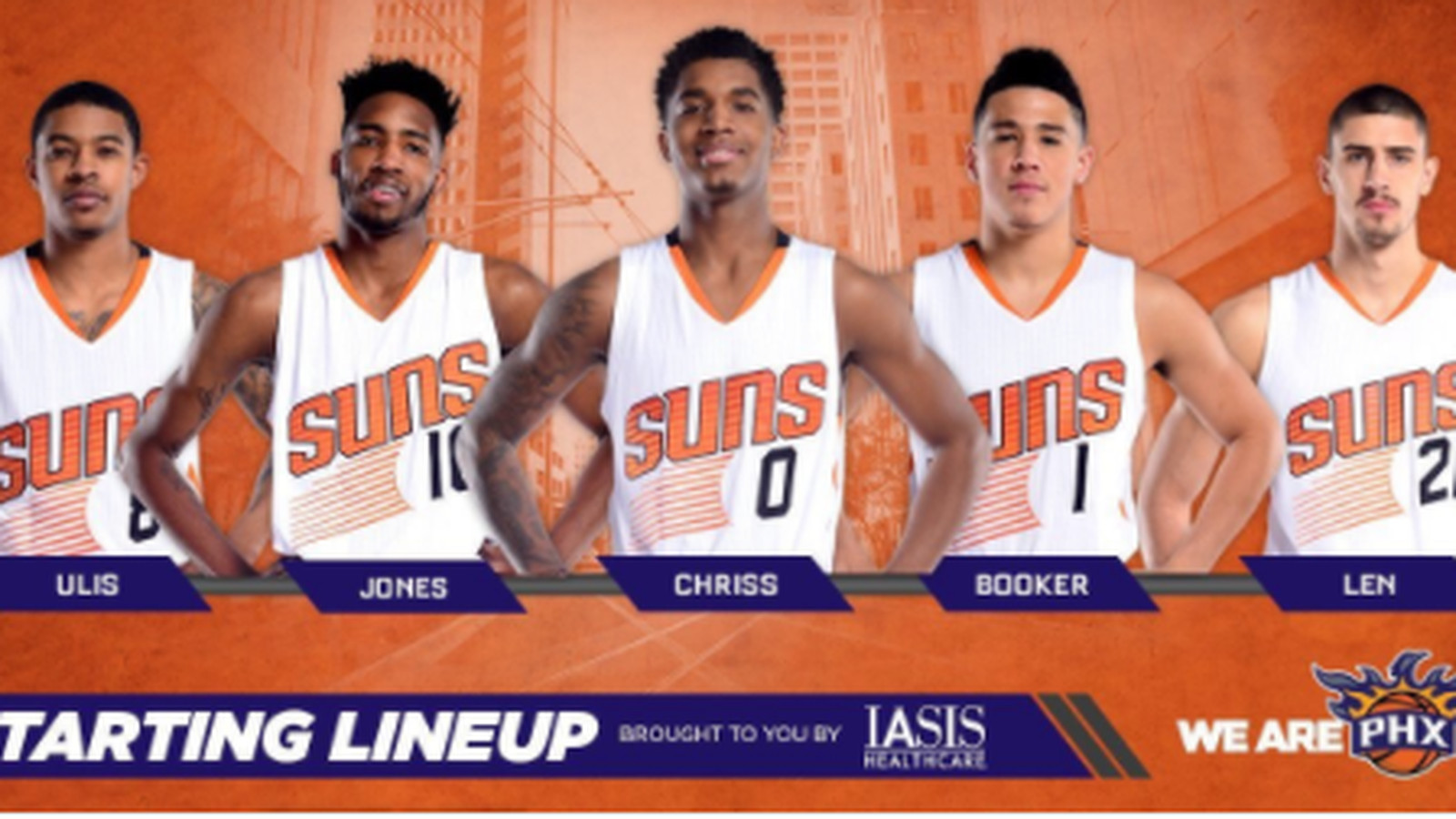 The Phoenix Suns Starting Lineup Is Younger Than Most