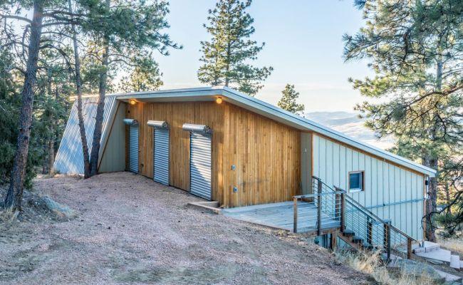 Off Grid Passive House Runs Entirely On Solar In Colorado