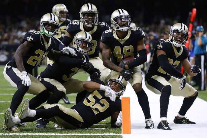 Image result for saints defense