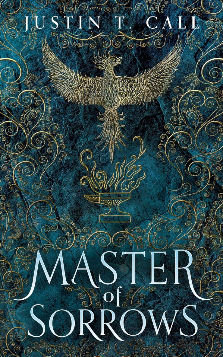 an airy pattern in the mask of Master of Sorrows by Justin T. Call