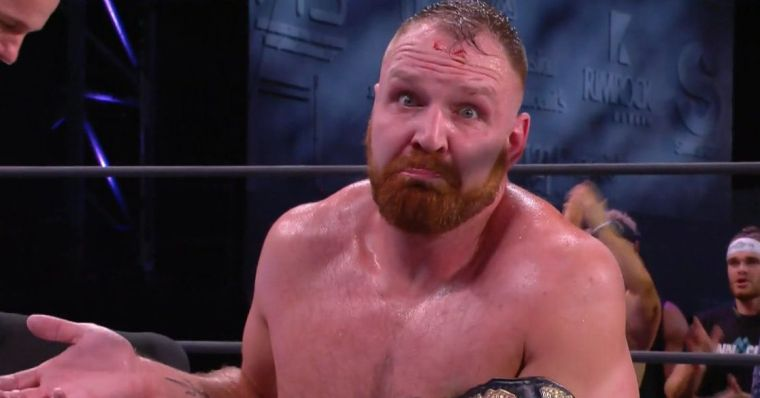 Jon Moxley perfectly promotes Bloodsport fight with Davey Boy Smith Jr.