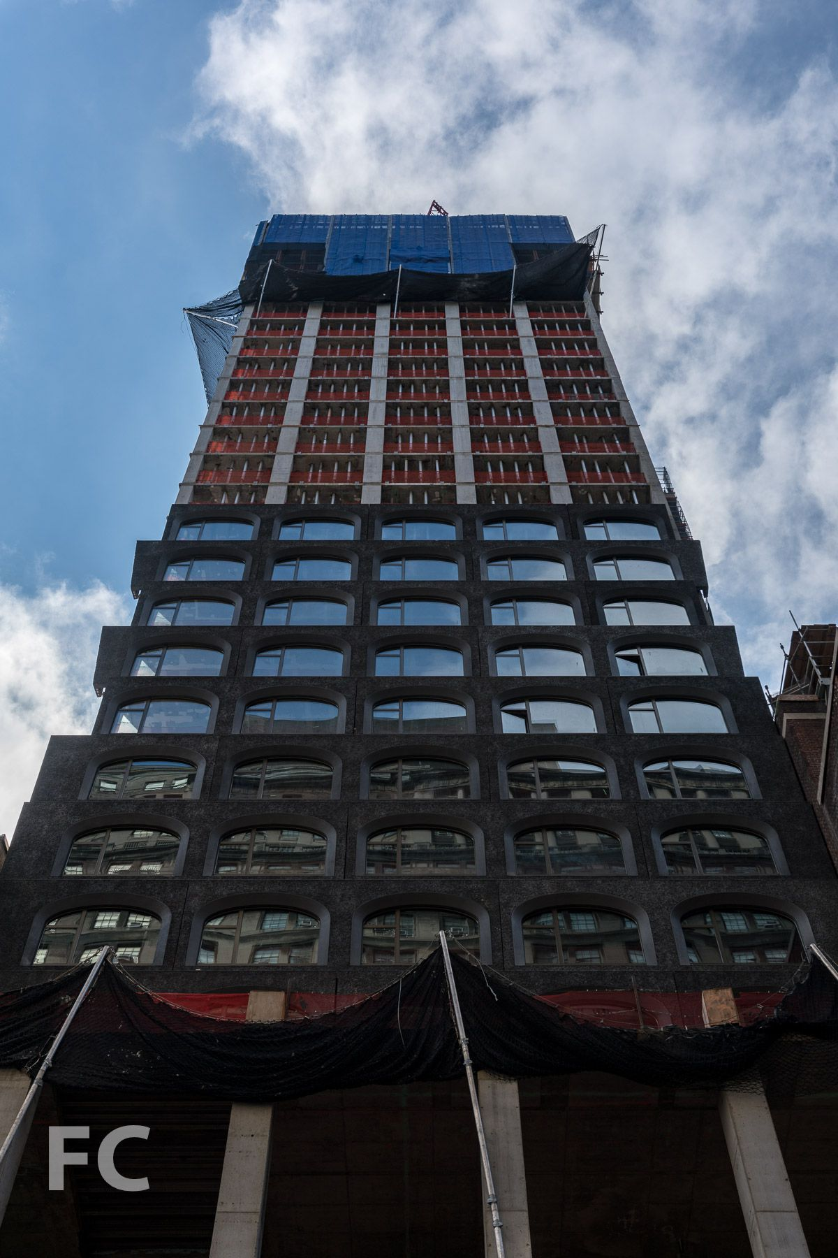 David Adjayes Financial District tower shows off its