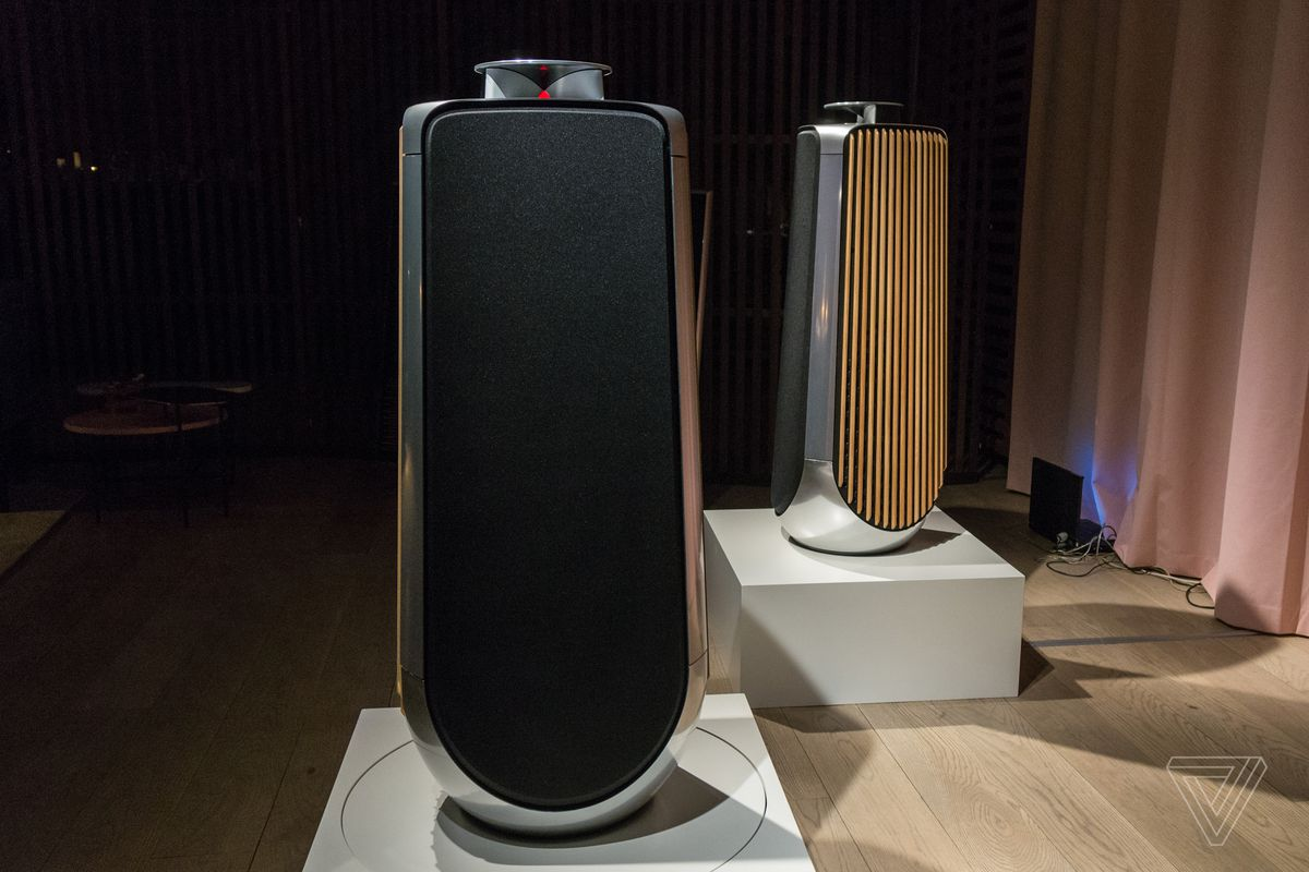 Bang Amp Olufsen S 40 000 Speakers Feature Machined