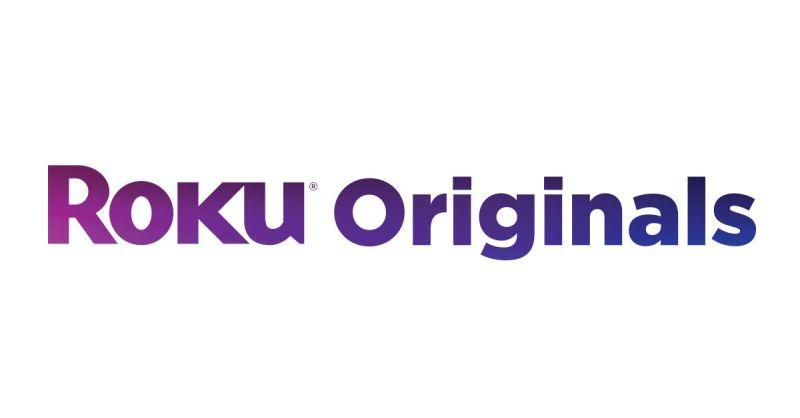 testo viola che dice Roku Originals