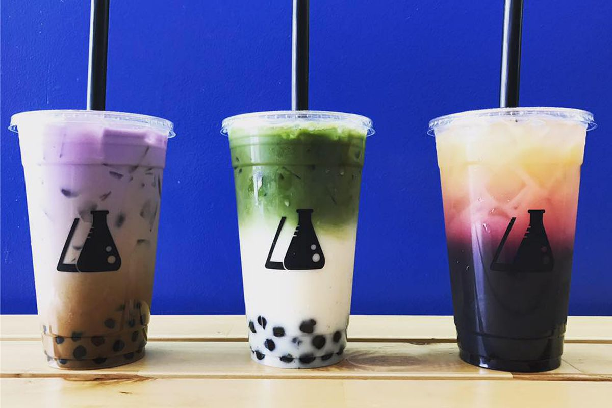 New PopUp Brings Boozy Boba to Houston Updated  Eater