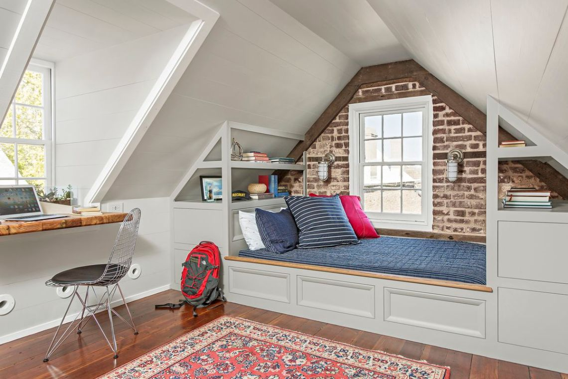 Modern Room In The Attic Inspiration