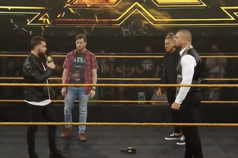 The NXT title picture is getting awfully crowded