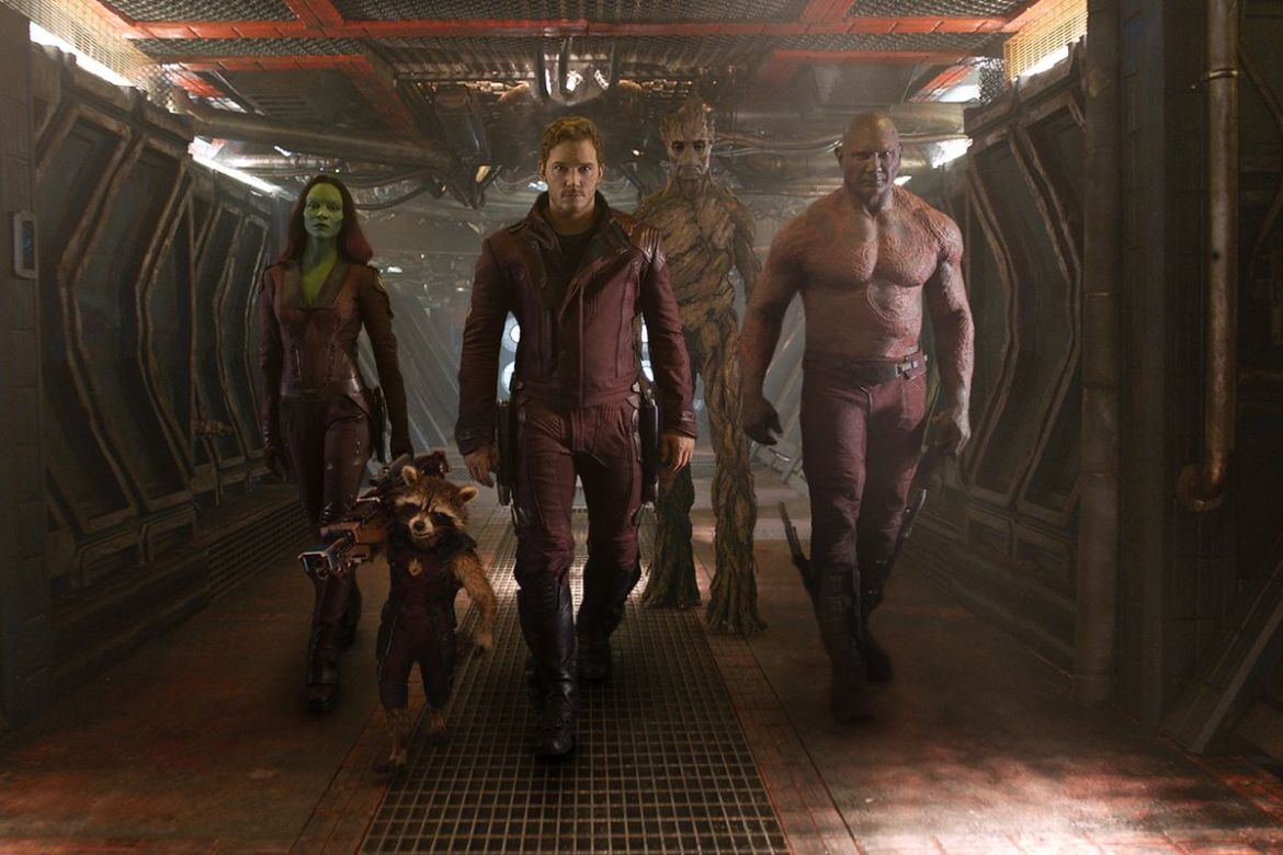 Guardians of the Galaxy is lots of fun, except when it remembers ...
