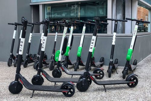 small resolution of electric scooters are inspiring lazy people to get creative