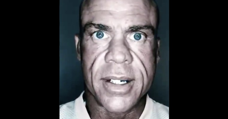 Kurt Angle isn't gonna miss out on the AEW mystery signing hype