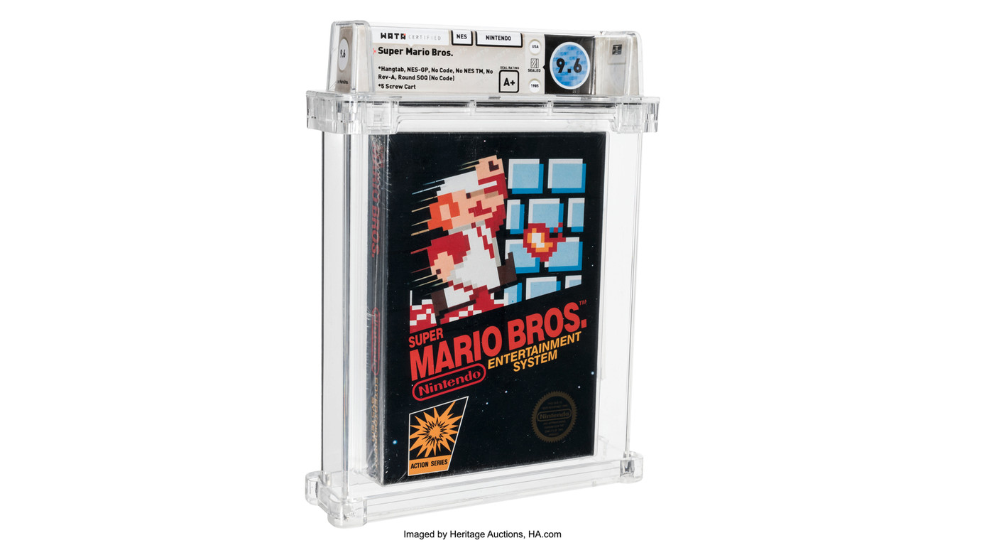 However, while it may look similar, this is a completely redesigned game that plays very differently from its nes brother. Sealed Super Mario Bros Sells For 660 000 Shattering Record For Most Expensive Game Ever The Verge