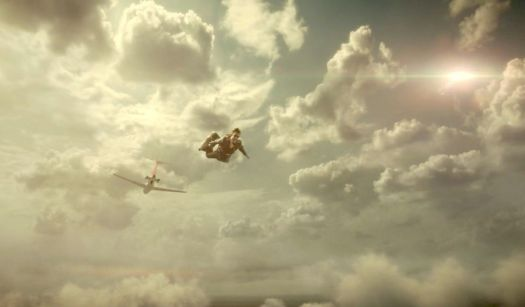 Loki as DB Cooper jumping out of the plane